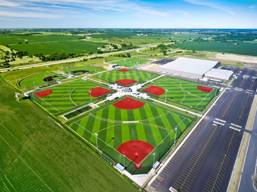 Ball-fields and sports complex