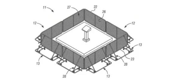 SportaFence Patent Diagram